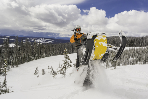 renting snowmobiles and atv's is just good fun!